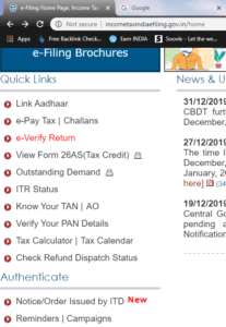 link Aadhar to Pan Card