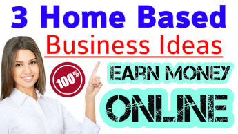 3 Home Based Business Ideas