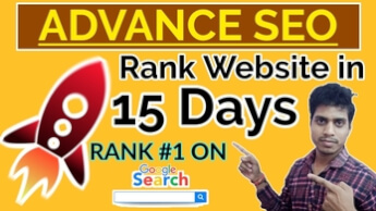 How to Rank Website on Google Under 15 Days