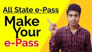 How to Apply Online e-pass For All States Online From Home