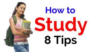 How to Study Tips and Study Smart by 8 Ways