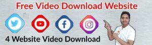 YouTube, Instagram, Facebook, Twitter Download video from website