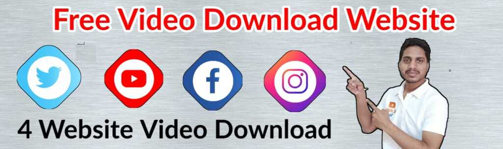 YouTube, Instagram, Facebook, Twitter Download video from website